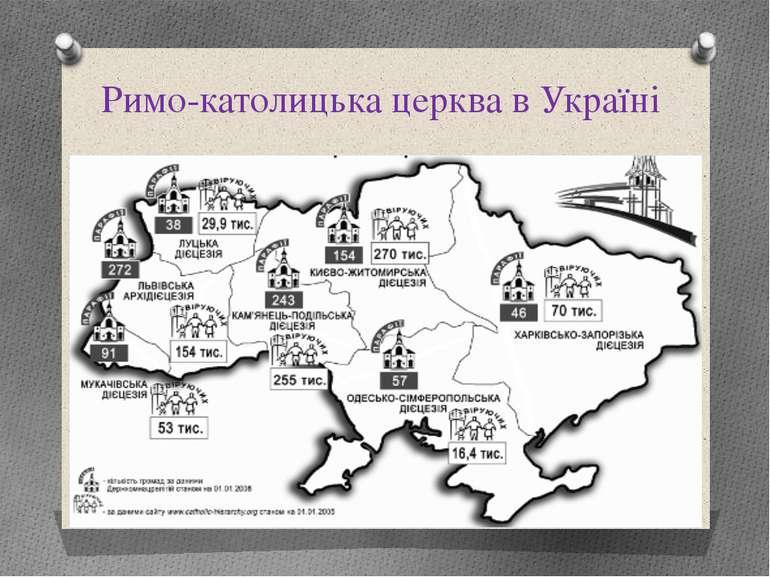 Римо-католицька церква в Україні