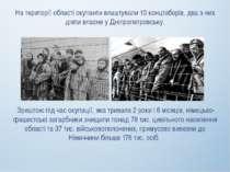 На території області окупанти влаштували 10 концтаборів, два з них діяли влас...