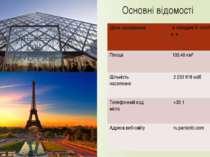 Основні відомості Дата заснування всерединіIIIстоліттядо н.е Площа 105,40 к...