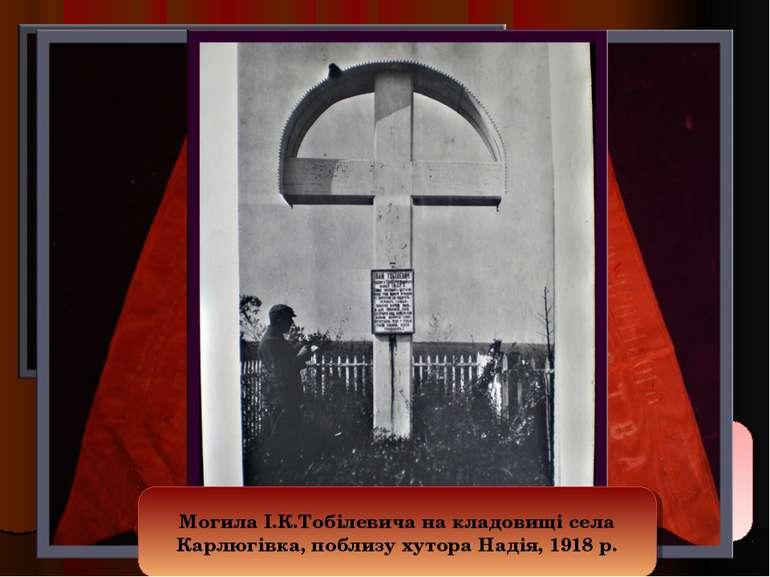 Помер письменник у 1907 році, похований біля хутора Надія,в якому 1969 року б...