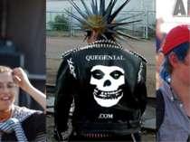 Зовнішній вигляд Зачіска рокерів може , в принципі , залежати від особистих п...