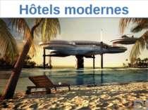 Hôtels modernes