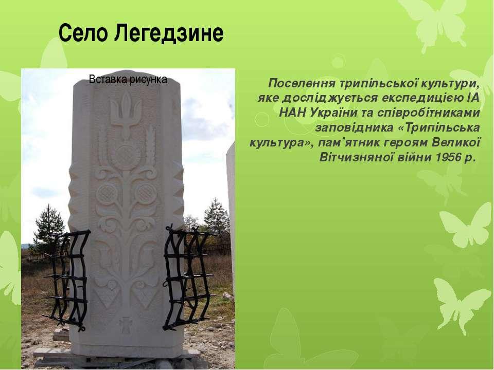Поселення трипільської культури, яке досліджується експедицією ІА НАН України...