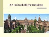 Die Erzbischöfliche Residenz