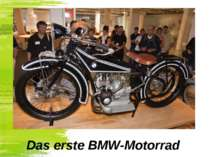 Das erste BMW-Motorrad