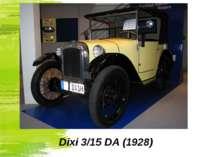 Dixi 3/15 DA (1928)