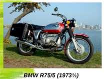 BMW R75/5(1973½)