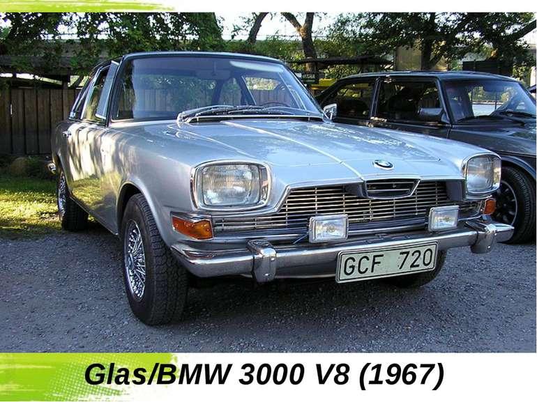 Glas/BMW 3000 V8(1967)