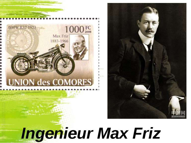 Ingenieur Max Friz