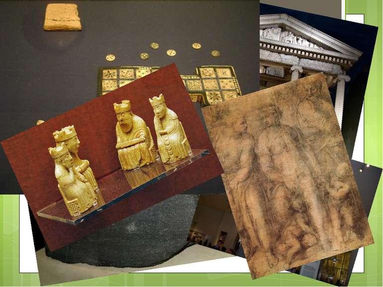 Сучасний музей має 6 відділів Стародавній Єгипет і Нубія. Стародавній Схід. С...