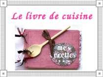 Le livre de cuisine
