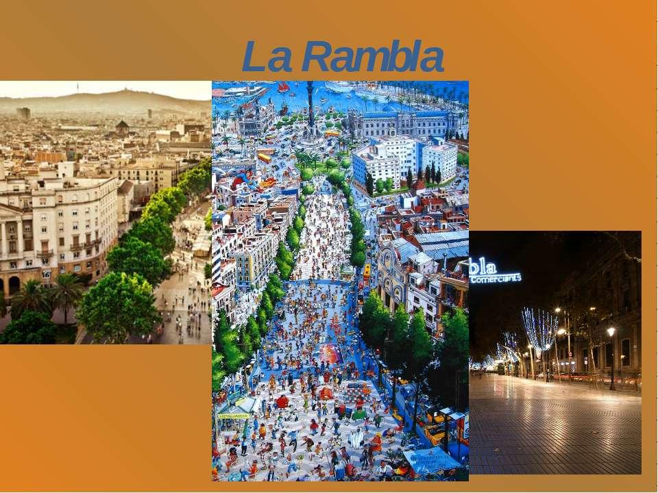 До берега середземного моря La Rambla Прогуляюсь бульваром La Rambla Він тягн...