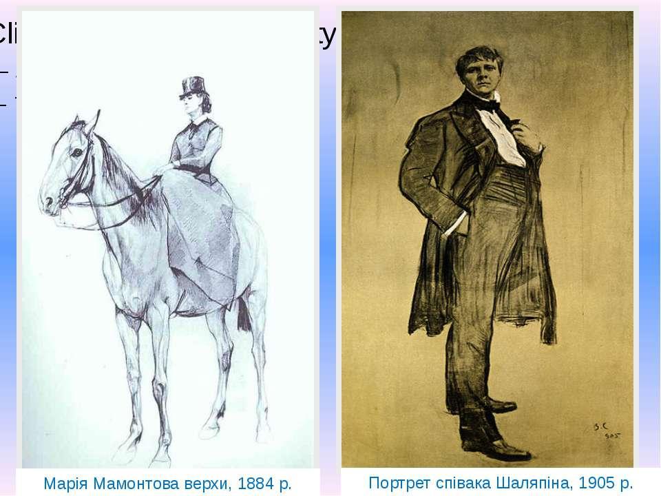 Ольга Орлова Балерина Т.Карсавіна Марія Мамонтова верхи, 1884 р. Балерина Т. ...