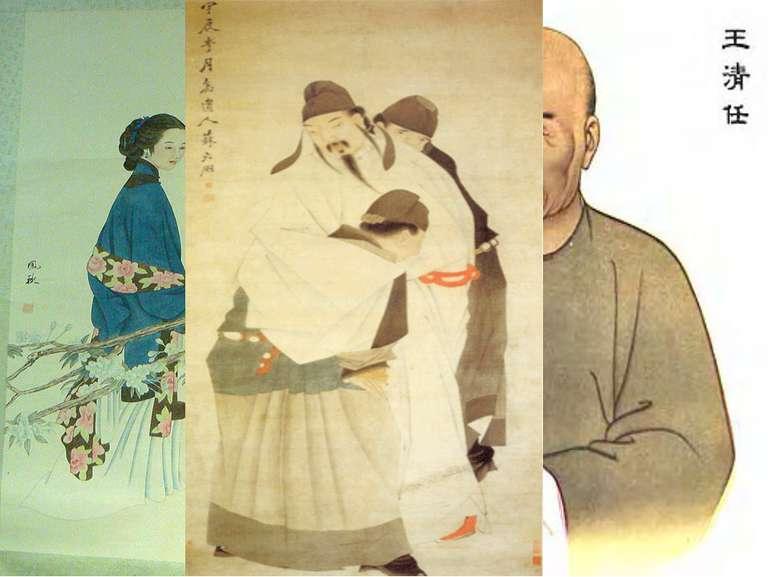 Жанри китайського живопису: жень-у-хуа Портретний — жень- у- хуа («люди») ...