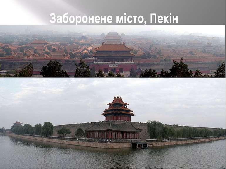 Заборонене місто, Пекін