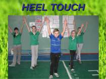 HEEL TOUCH
