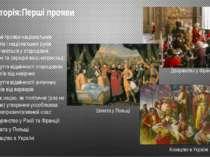 Історія:Перші прояви Окремі прояви національних почуттів і національних рухів...