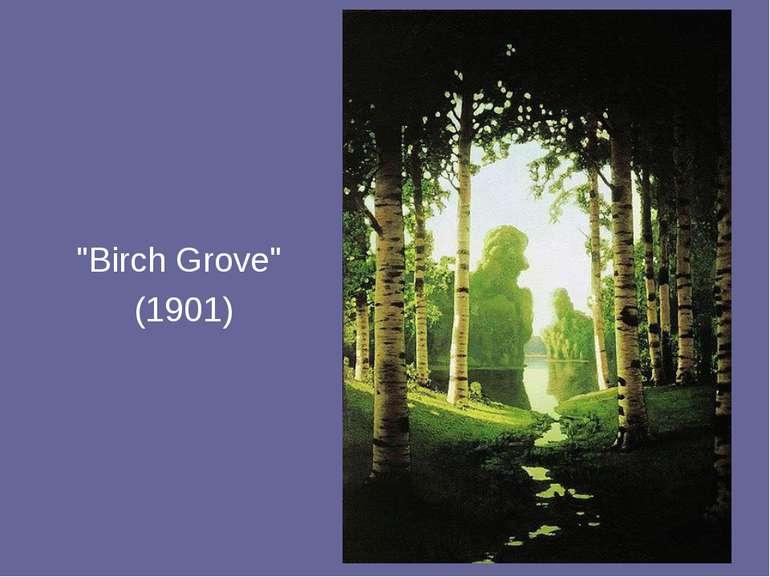 """Birch Grove"" (1901)"
