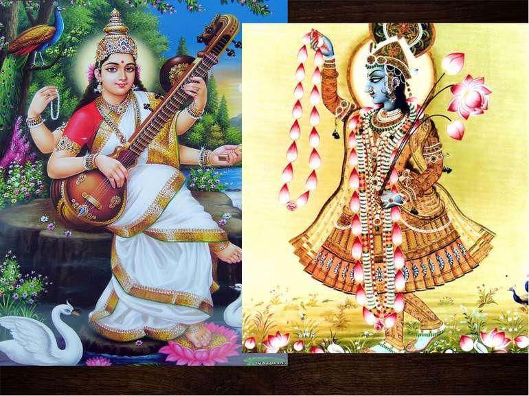 Три найвідоміших індійські боги, окрім шива, Калі і Крішна, як правило, предс...