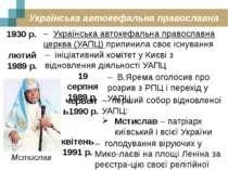 Українська автокефальна православна церква 1930 р. – Українська автокефальна ...