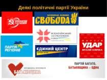 Деякі політичні партії України