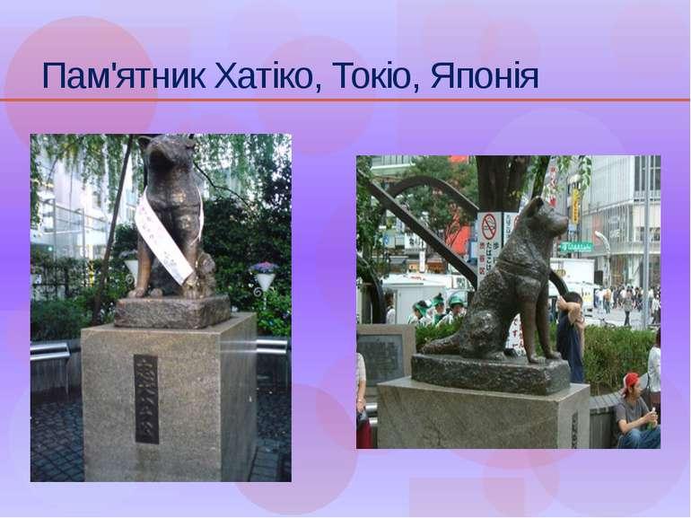 Пам'ятник Хатіко, Токіо, Японія