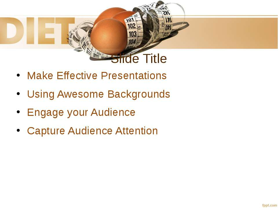 Slide Title Make Effective Presentations Using Awesome Backgrounds Engage you...