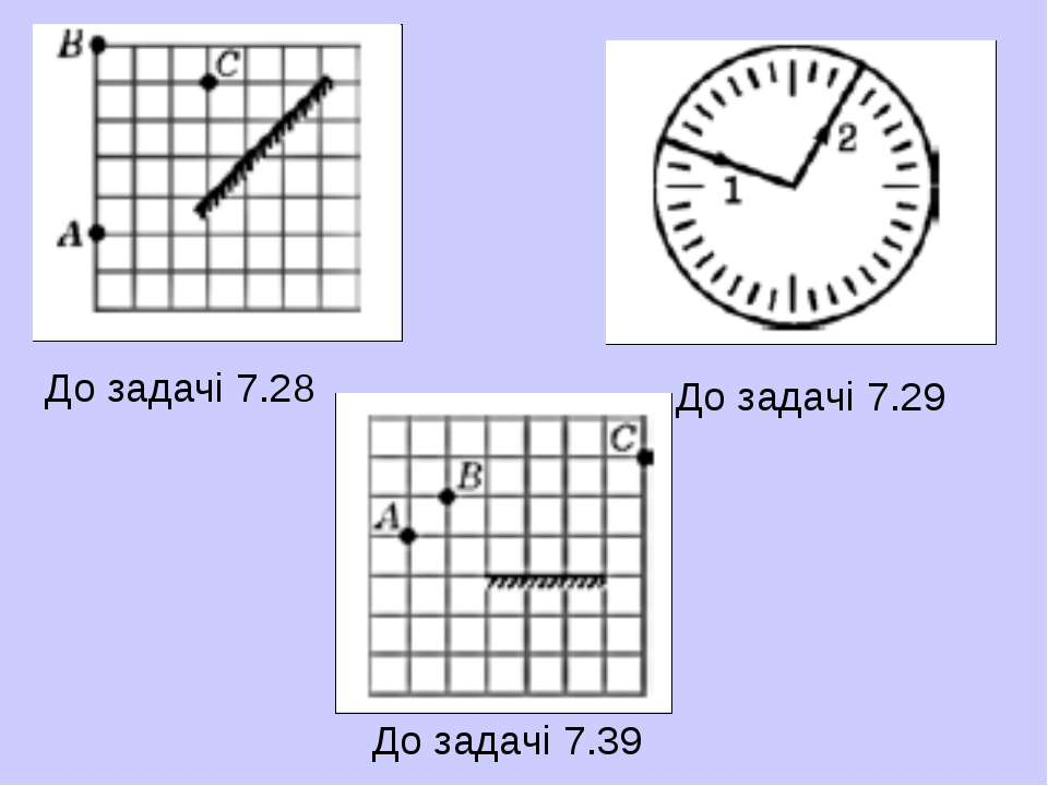 До задачі 7.28 До задачі 7.29 До задачі 7.39