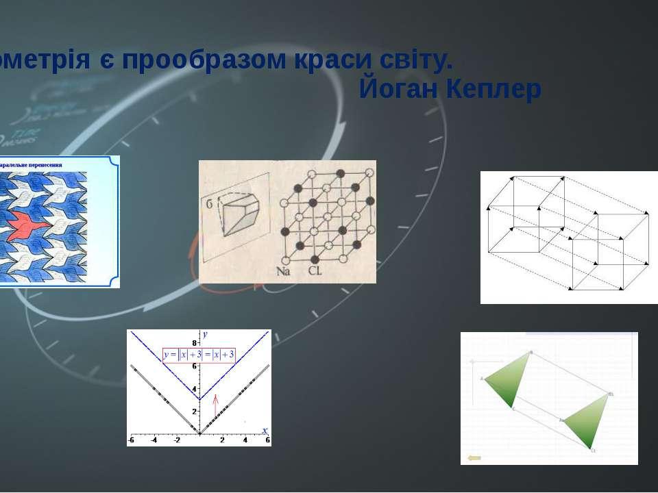 Геометрія є прообразом краси світу. Йоган Кеплер