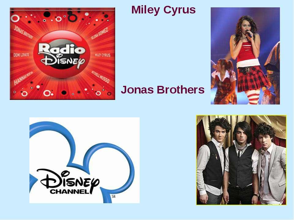 Miley Cyrus Jonas Brothers