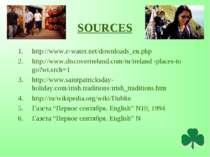 SOURCES http://www.e-water.net/downloads_en.php http://www.discoverireland.co...