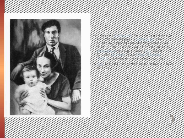 Наприкінці1930-х роківПастернак звертається до прози та перекладів, які у1...