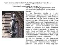 Wien, Ecke Favoritenstraße 64/Kolschitzkygasse (auf der Höhe des 1. Stocks):...