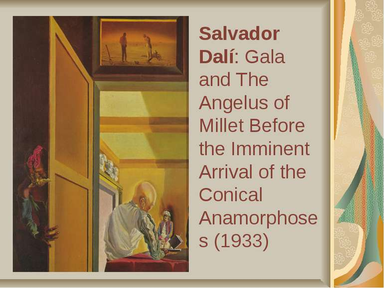 Salvador Dalí: Gala and The Angelus of Millet Before the Imminent Arrival of ...