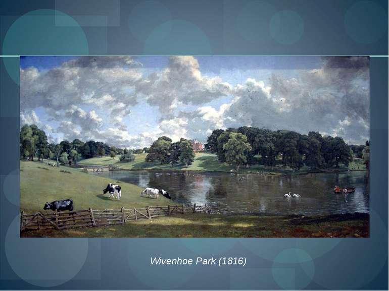 Wivenhoe Park (1816)