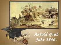 Askold Grab Jahr 1846.