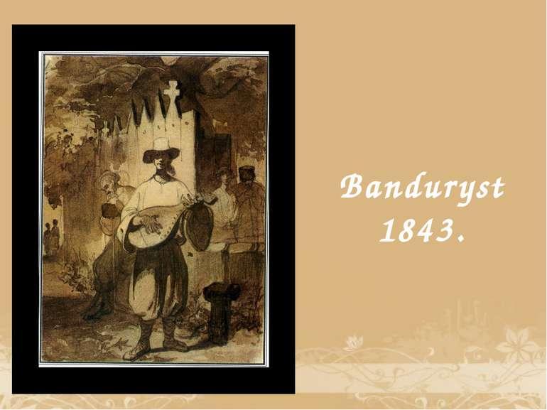 Banduryst 1843.