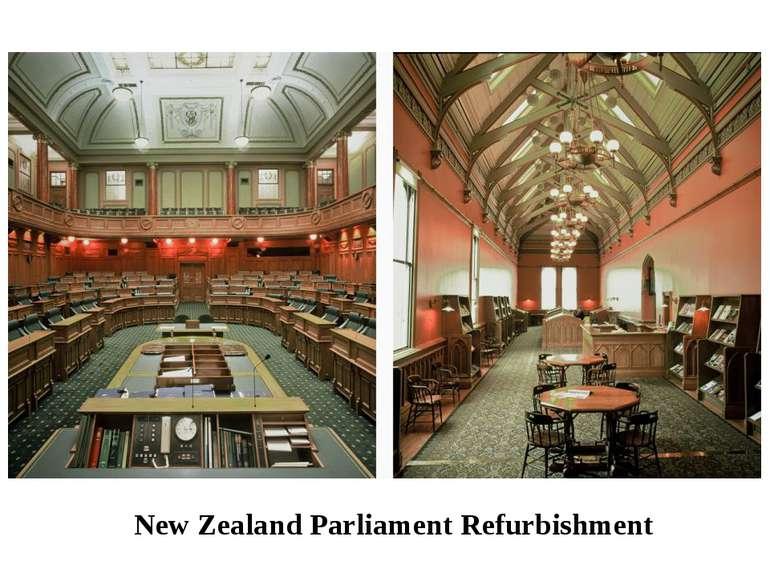 New Zealand Parliament Refurbishment