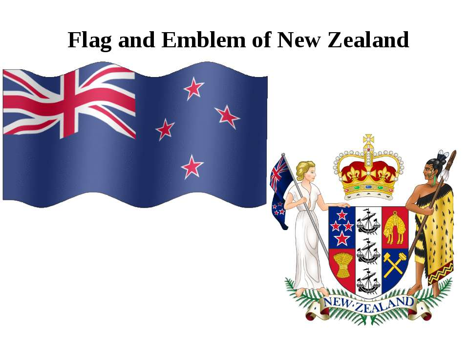 Flag and Emblem of New Zealand