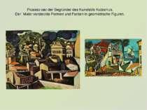 Picasso war der Begründer des Kunststils Kubismus. Der Maler versteckte Forme...