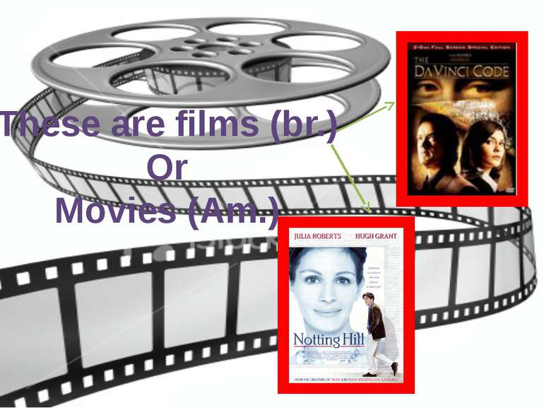 These are films (br.) Or Movies (Am.)