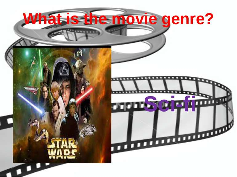 What is the movie genre? Sci-fi