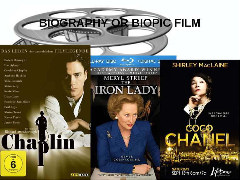 BIOGRAPHY OR BIOPIC FILM