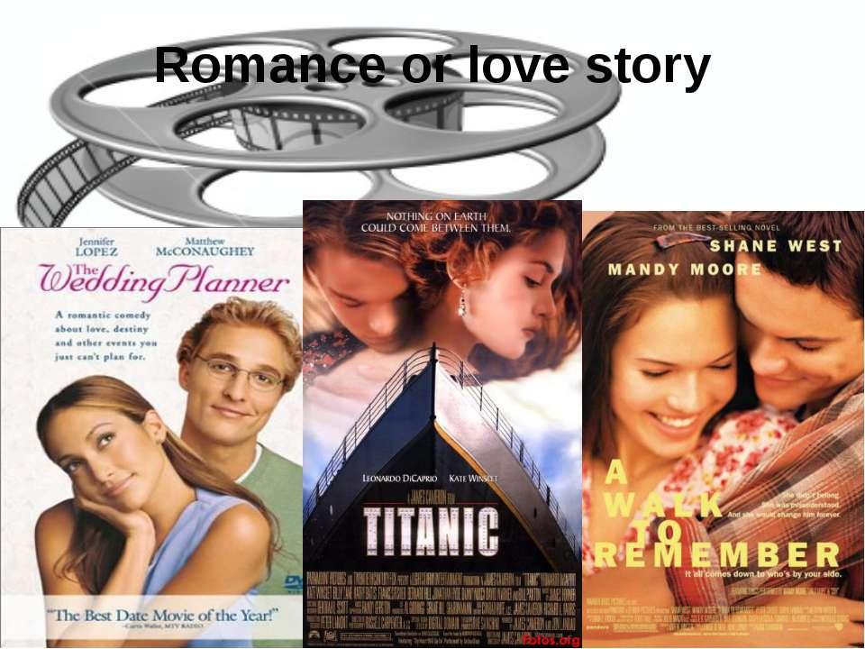 Romance or love story