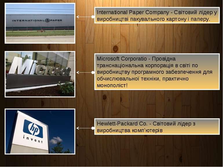 International Paper Company - Світовий лідер у виробництві пакувального карто...