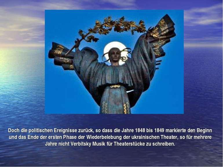 Doch die politischen Ereignisse zurück, so dass die Jahre 1848 bis 1849 marki...