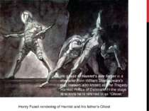 Henry Fuseli rendering of Hamlet and his father's Ghost He ghost of Hamlet's ...