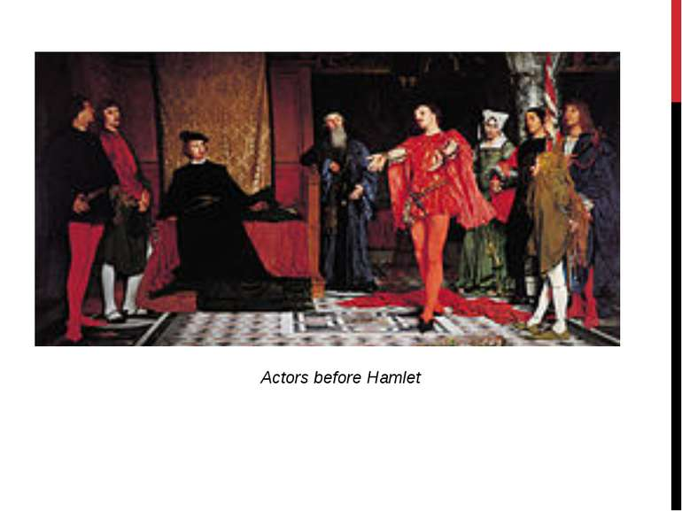 Actors before Hamlet