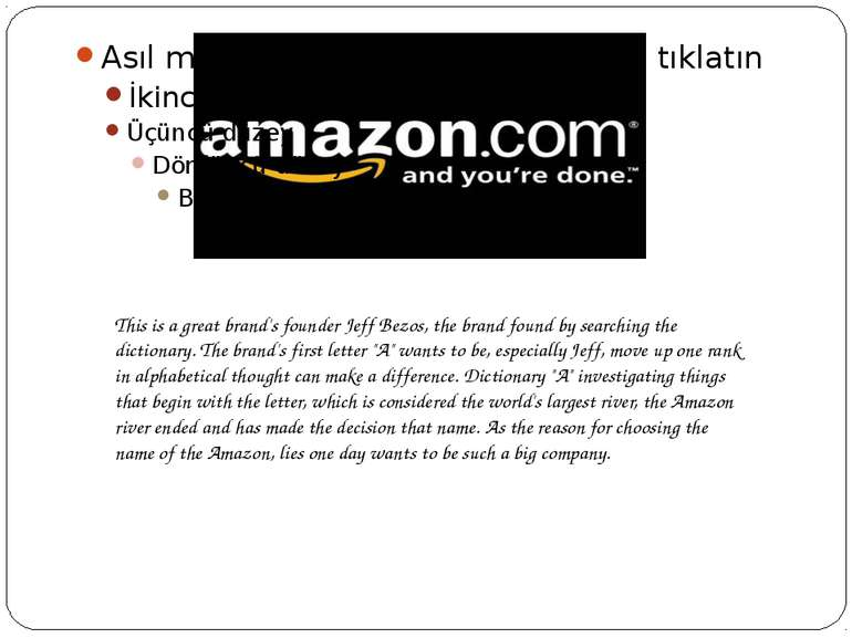 This is a great brand's founder Jeff Bezos, the brand found by searching the ...