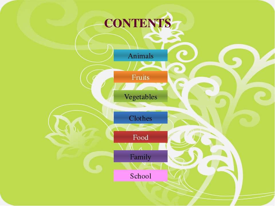 contents Animals QUESTIONS: 3 1 2 5 6 1 2 3 4 5 6 7 8 9 7 9 8 L I O N C O W E...